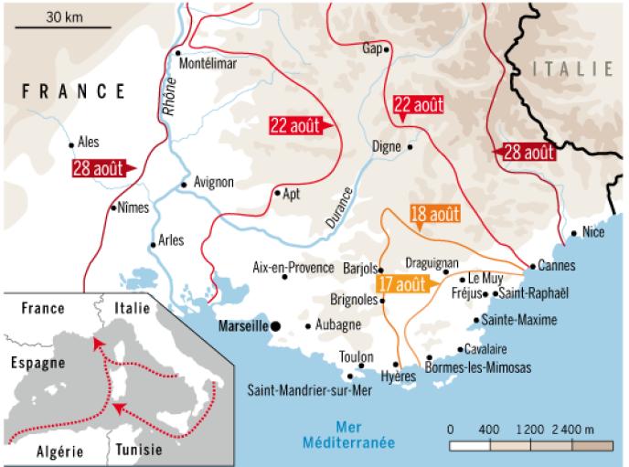 Le Debarquement Oublie Du 15 Aout 1944 En Provence