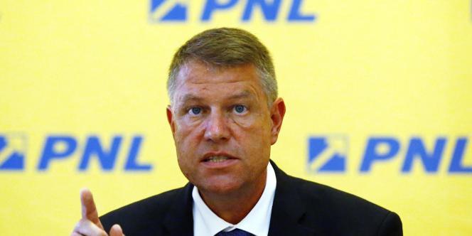 Klaus Iohannis, le 11 août à Bucarest.