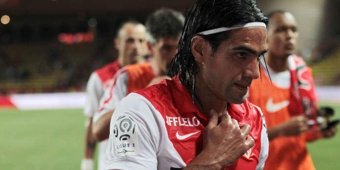Radamel Falcao, le 10 août à Monaco.