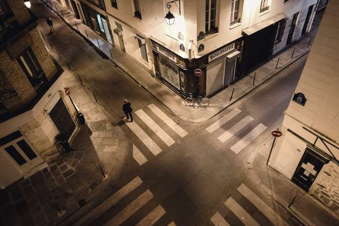 Au carrefour des rues du Vertbois et Volta. C'est ce quartier du 3e arrondissement de Paris qui doit accueillir la Jeune Rue.