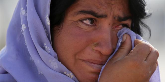 Une femme yézidie, le 13 août.