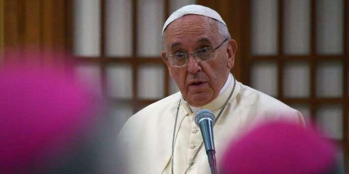 Le souverain pontife a également recommandé de « stopper l'agression injuste » comme celle des djihadistes en Irak, par une action collective de l'ONU.