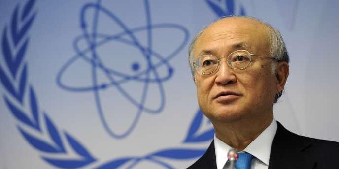 Le chef de l'Agence internationale de l'énergie atomique (AIEA), Yukiya Amano, est arrivé dimanche 17 août à Téhéran, a indiqué l'agence officielle Irna.
