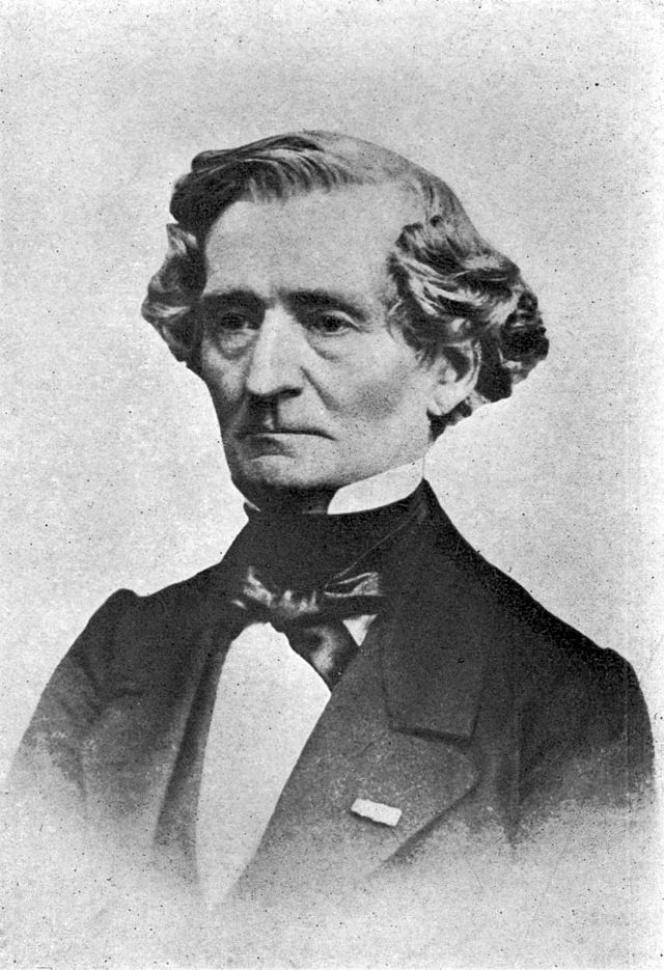 Hector Berlioz vers 1864. Cliché de Charles Reutlinger.