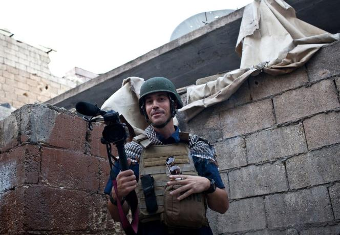 James Foley, en 2012 à Alep.
