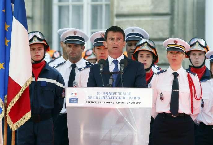 Le premier ministre a insisté sur le caractère universel de la libération de Paris.