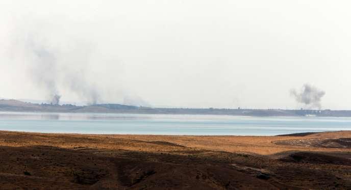 Ce barrage, repris aux djihadistes, fournit de l'énergie et de l'eau à plus d'un million de personnes.