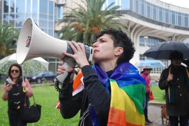 Xheni Karaj, militante LGBT en Albanie et personnage du documentaire