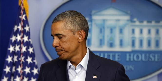 Barack Obama, le 18 août à la Maison Blanche.