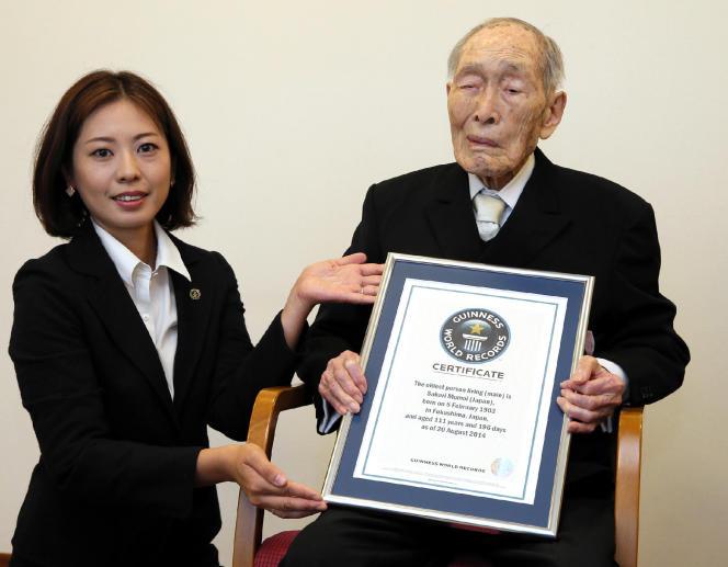 Le Japonais Sakari Momoi est né le 5 février 1903 à Minamisoma, dans la préfecture de Fukushima.