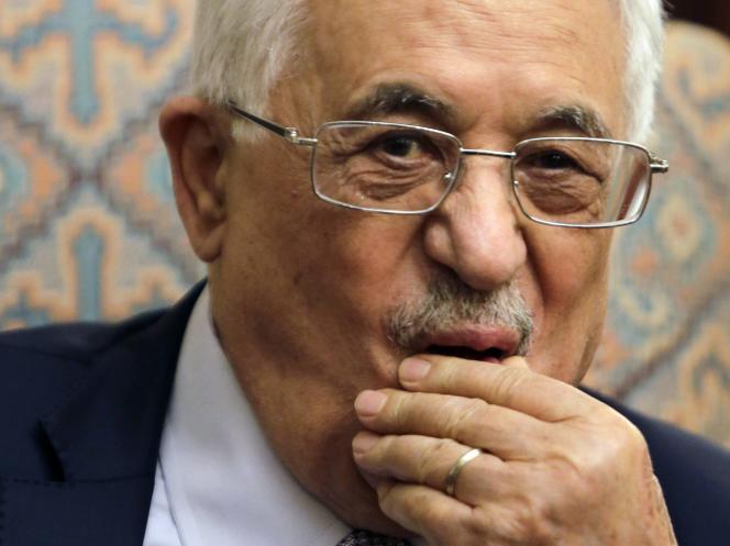 Mahmoud Abbas, le 16 juillet 2014 au Caire.