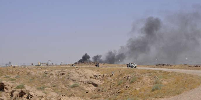 Des combats dans la région de Diyala, dans le nord de l'Irak, en juillet 2014.