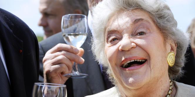 La baronne Philippine de Rothschild en juin 2009.