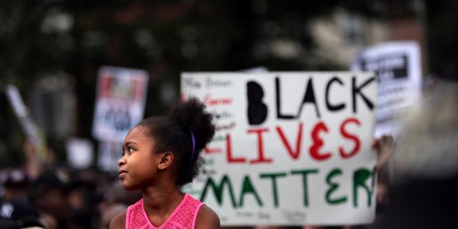 A New York, lors de la manifestation organisée à la mémoire d'Eric Garner.