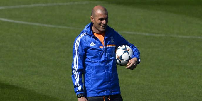 Zinédine Zidane, le 17 mars à Madrid.
