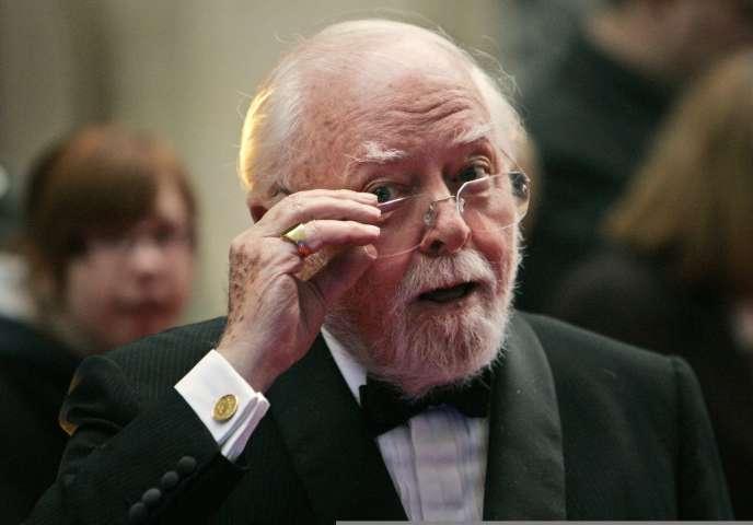 Richard Attenborough, à Londres, en 2008.