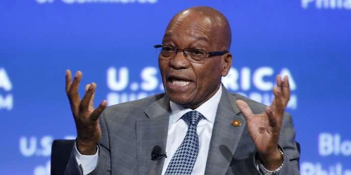 Le président sud-africain, Jacob Zuma, le 5 août.