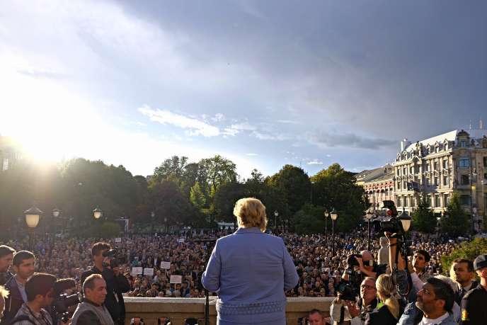 « La Norvège ne paie pas de rançon », a affirmé la première ministre, Erna Solberg, lors d'un point de presse à Oslo.