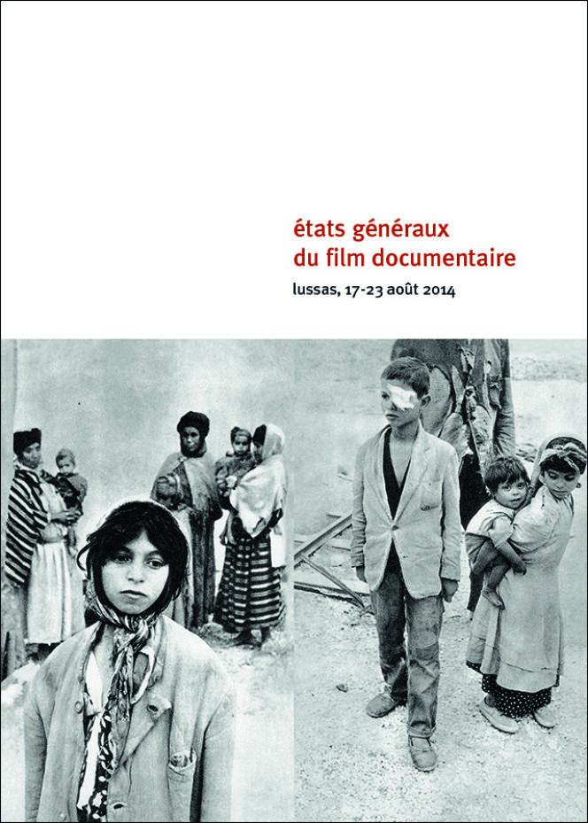 Affiche des 26es Etats généraux du film documentaire à Lussas (Ardèche), du 17 au 23 août 2014.