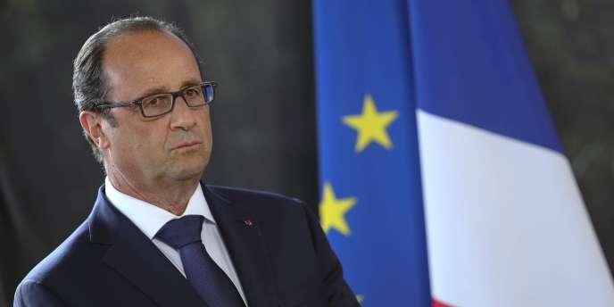 François Hollande, le 21 août à La Réunion.