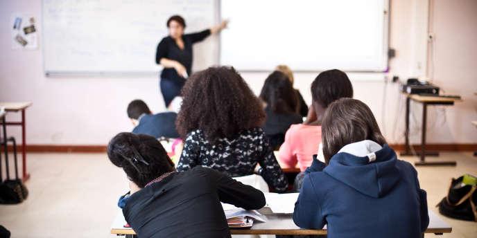 Au lycée Saint-Exupéry de Mantes-la-Jolie (Yvelines), en juin 2013.
