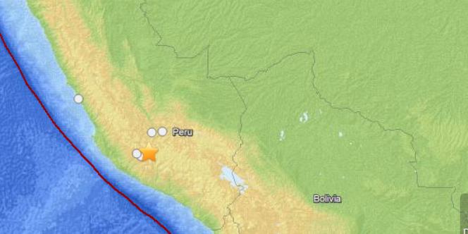Le séisme du 25 août au centre du Pérou.