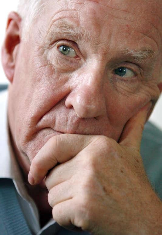 Alain Badiou à Paris en janvier 2008.