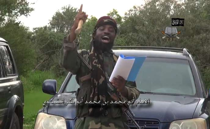 Aboubakar Shekau, chef de Boko Haram, sur une vidéo diffusée le 24 août2014.