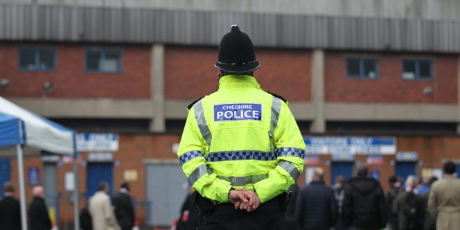 Policier britannique.
