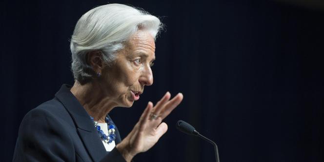 La directrice du Fonds monétaire international, Christine Lagarde, à Washington, le 2juillet.