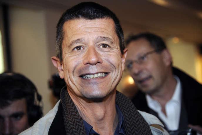 Emmanuel Carrère, à Paris, en 2011.