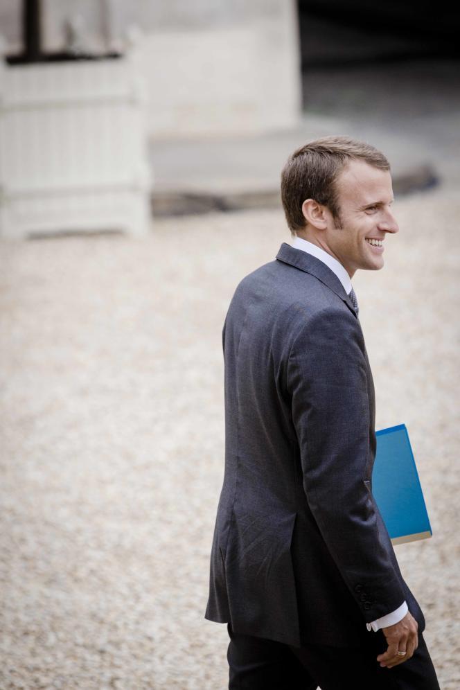 Emmanuel Macron, le 27 août.