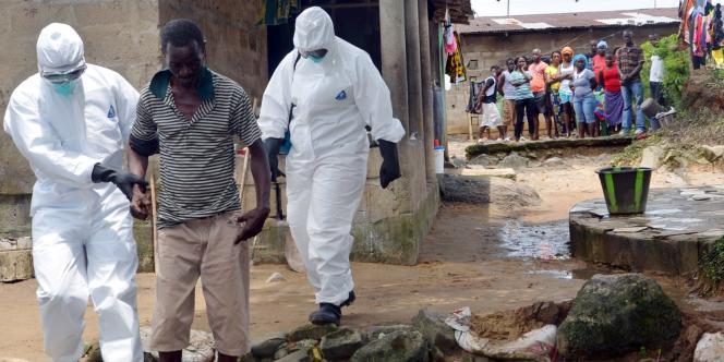 Lundi 25 août, à Monrovia, la capitale du Liberia, pays le plus touché par le virus Ebola.