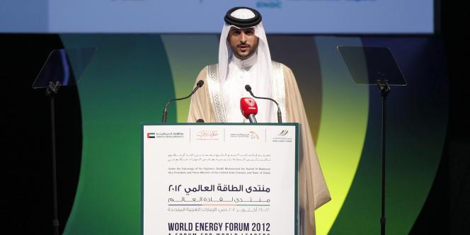 Le Cheikh Nasser Ben Hamad Al-Khalifa, en octobre 2012 à Dubaï.