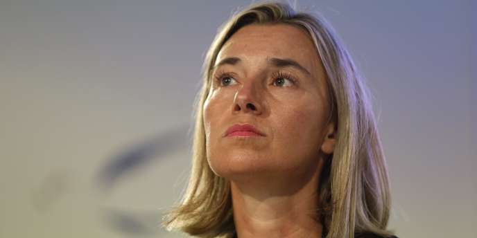 La ministre des affaires étrangères italienne, Federica Mogherini, le 30 août.