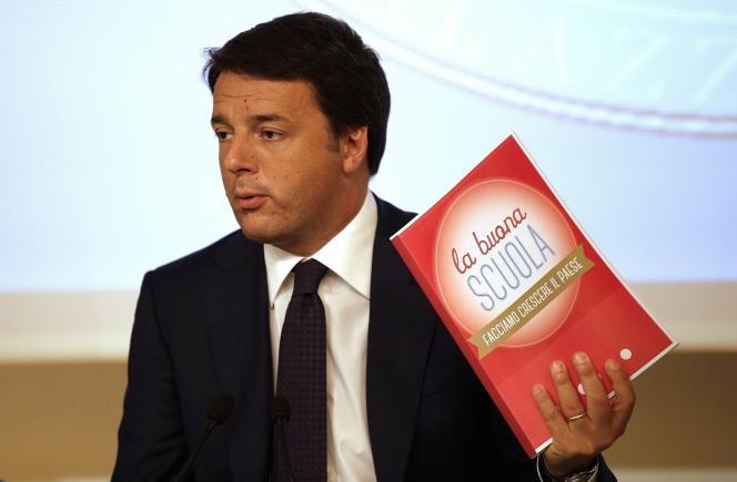 Matteo Renzi, le 1er septembre à Rome.