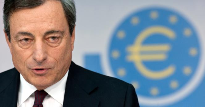 Mario Draghi, le 7 août à Francfort.