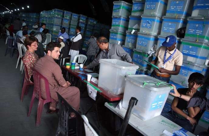L'audit vise à départager hors de tout doute les rivaux Abdullah Abdullah et Ashraf Ghani, qui se sont affrontés le 14 juin.