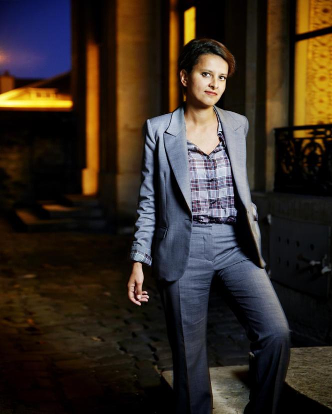 Najat Vallaud-Belkacem,à  Paris, le 29 août.