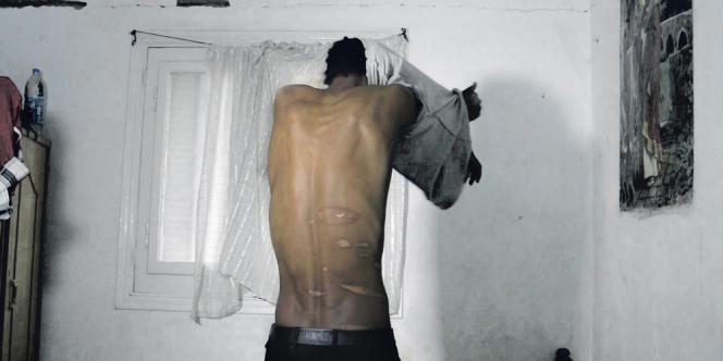 Au Caire, en avril 2014. Halefom a été détenu et torturé pendant huit mois dans le Sinaï.