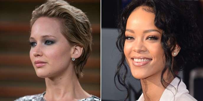 Des photos intimes de Jennifer Lawrence et Rihanna ont fuité, dimanche 31 août.