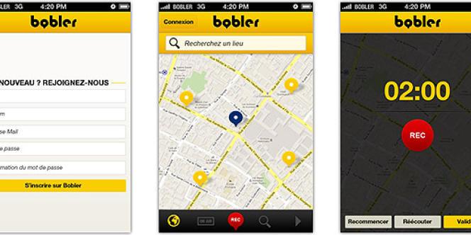 L'interface de Bobler.