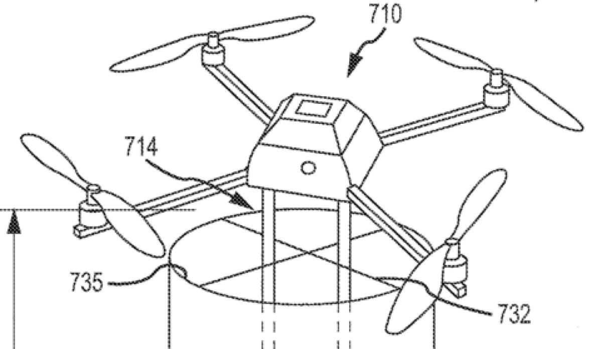 Extrait d'une demande de brevet déposée par Disney.