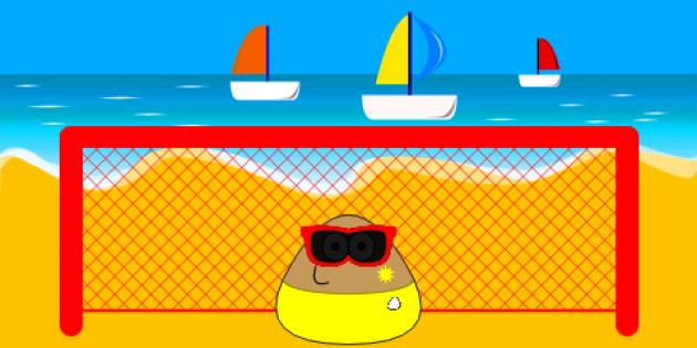 Beach Soccer dans «Pou».