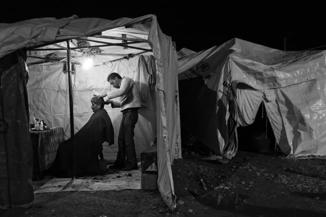 Réfugiés Irakien  dans le camp de Kawergosk.