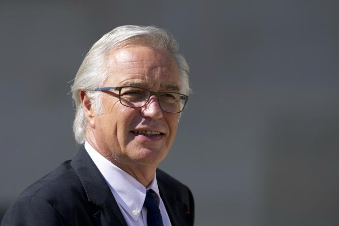 Le ministre du travail, François Rebsamen, le 3septembre 2014.