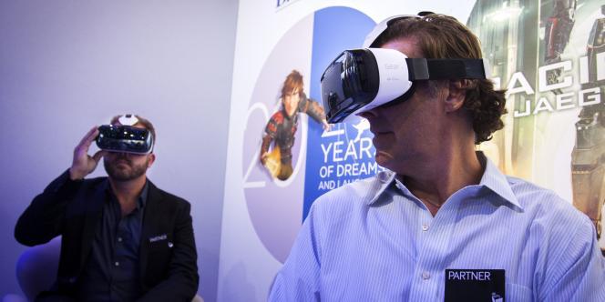 Démonstration du Gear VR, le 3 septembre.