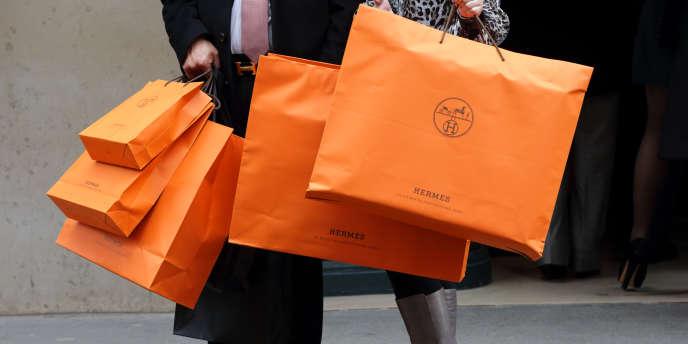 Le groupe Hermès a ainsi annoncé mercredi 25 mars de très solides résultats financiers pour 2014.