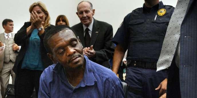 Henri McCollum (photo) et son demi-frère Leon Brown avaient été condamnés en 1984 à la peine de mort pour le viol et le meurtre d'une petite fille.