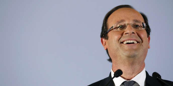 François Hollande, le 9 novembre 2011 à Paris.